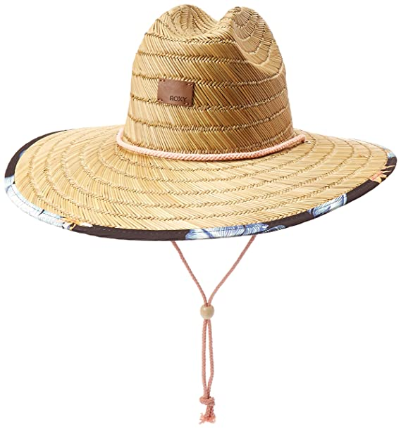 2e33af56f1e Roxy Womens Tomboy Printed Straw Hat  Amazon.ca  Clothing   Accessories