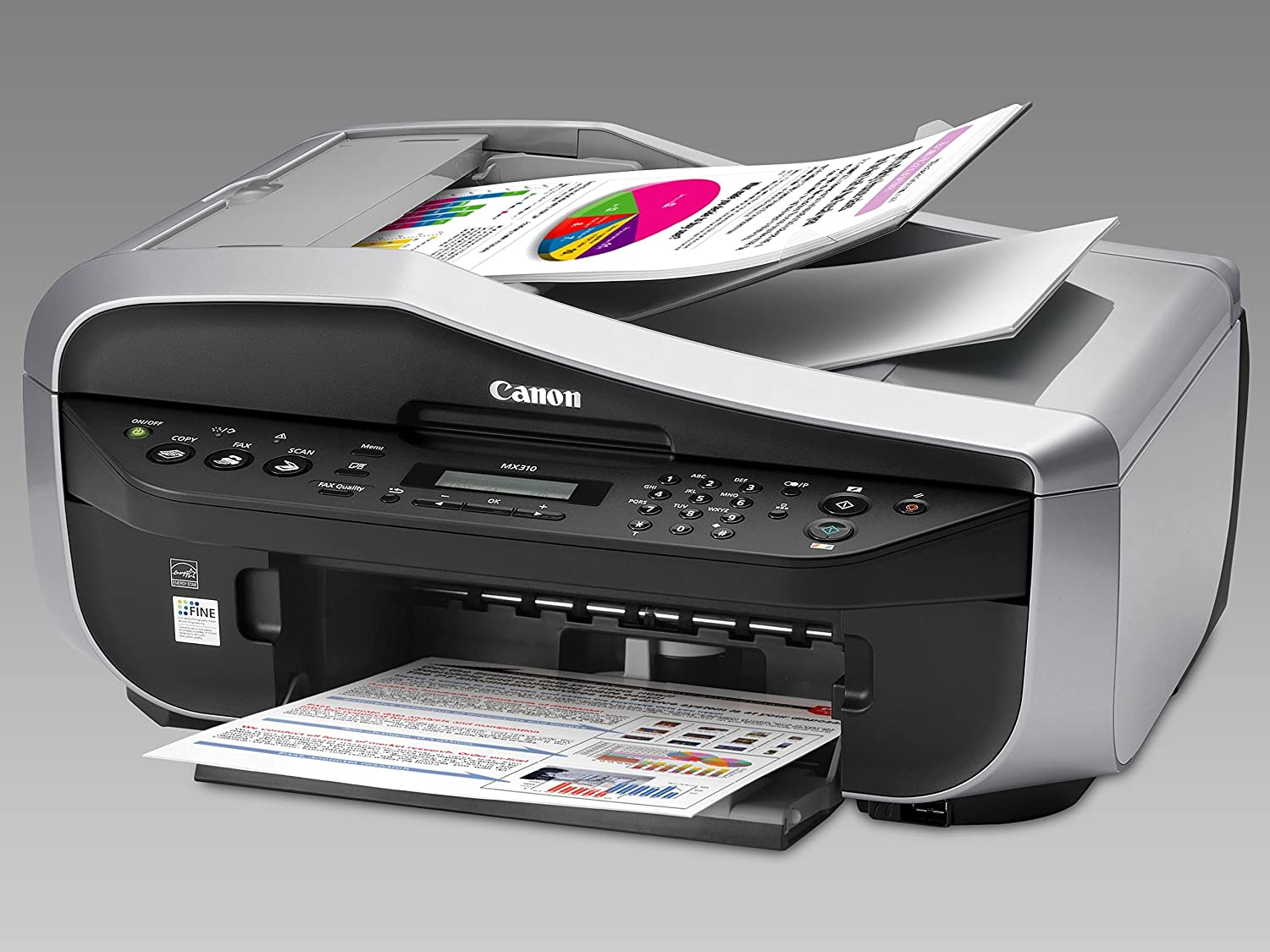 amazon com canon pixma mx310 office all in one inkjet printer rh amazon com Canon MX310 Driver canon mx310 scanning guide on screen manual