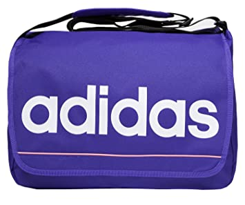 acb99da57f08 Adidas Linear Purple Shoulder Messenger Bag  Amazon.co.uk  Sports ...