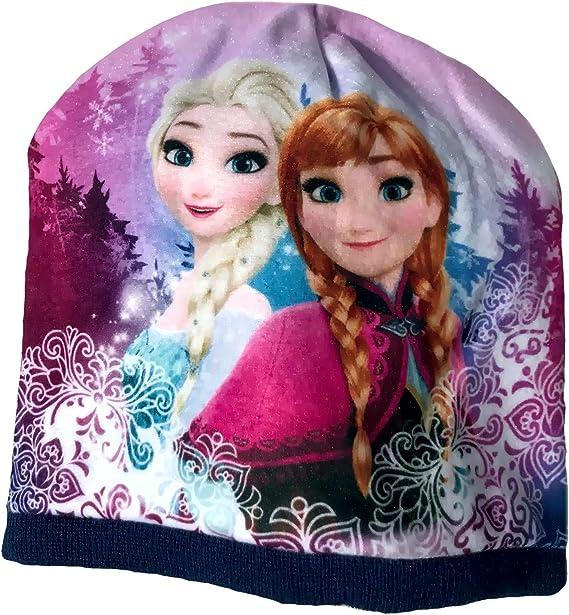 Eisk/öngin Beanie M/ütze f/ür M/ädchen Anna und ELSA Frozen v/öllig unverfroren Gr 52 54