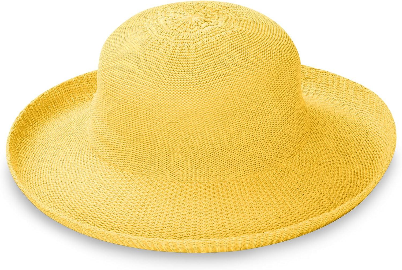 Wallaroo Hat Company Women's Victoria Sun Hat – Ultra Lightweight, Packable, Broad Brim, Modern Style, Designed in Australia