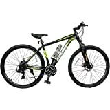 COSMIC TRIUM 29 INCH 21 SPEED HARDTRAIL BICYCLE BLACK/GREEN - SPECIAL EDITION