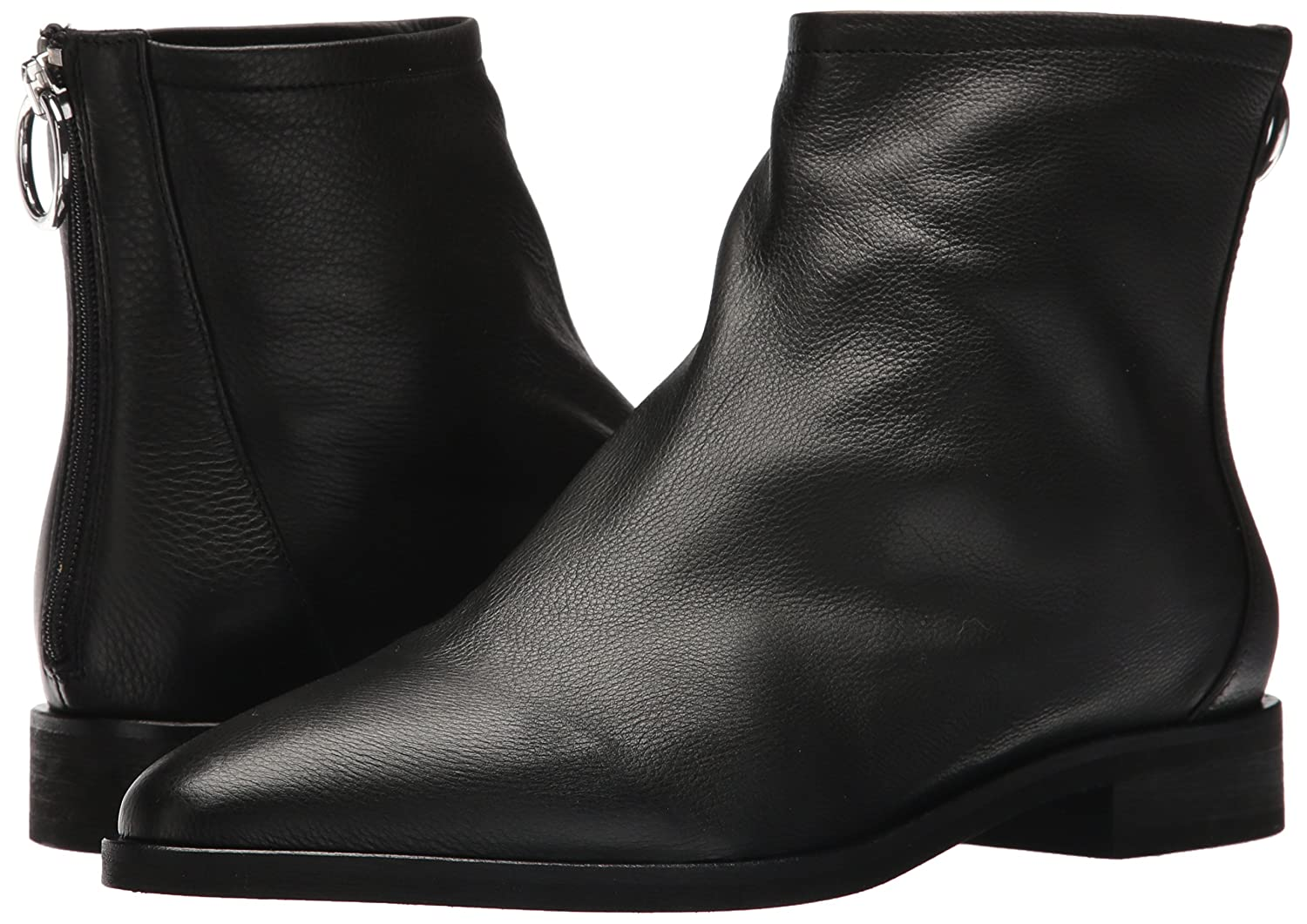 Via Spiga Women's 7.5 Edie Ankle Boot B074CZBH29 7.5 Women's B(M) US|Black Leather 53d6fc