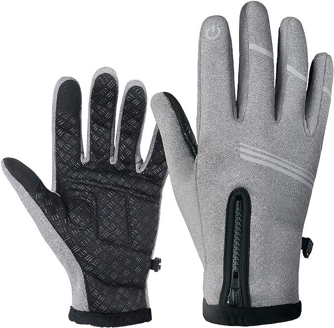 Blinker Handschuhe Schwarz M//L mit Touch Funktion