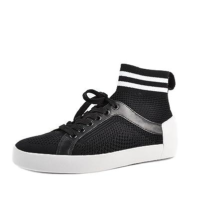 Ash Zapatos Ninja Zapatillas Negro Mujer: Amazon.es: Zapatos ...