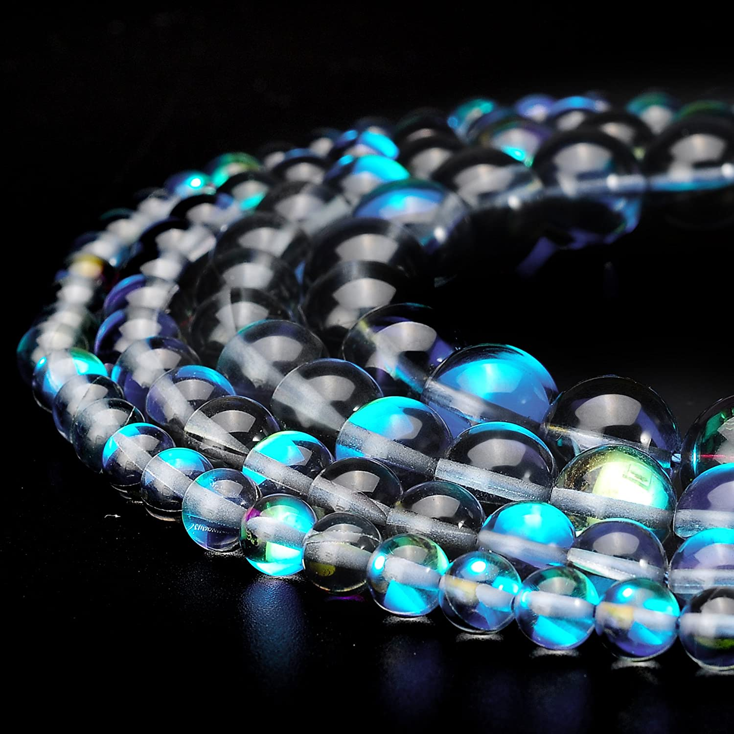 Rondelle Bead Approx 200 beads Jewellery Making Crystal Bead 2mm x 3mm Iridescent Rainbow Purple Grey Crystal Glass Faceted Bead Strand