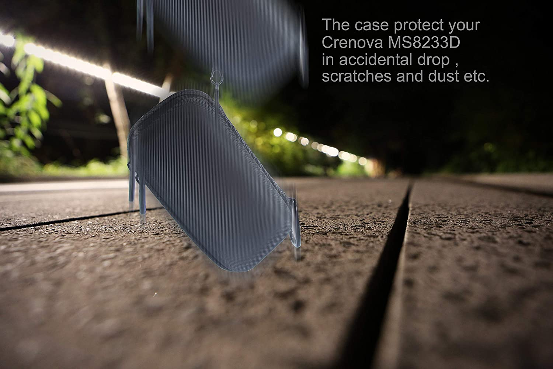 Supremery Case f/ür Crenova//Tacklife Digital Multimeter Case H/ülle Tasche