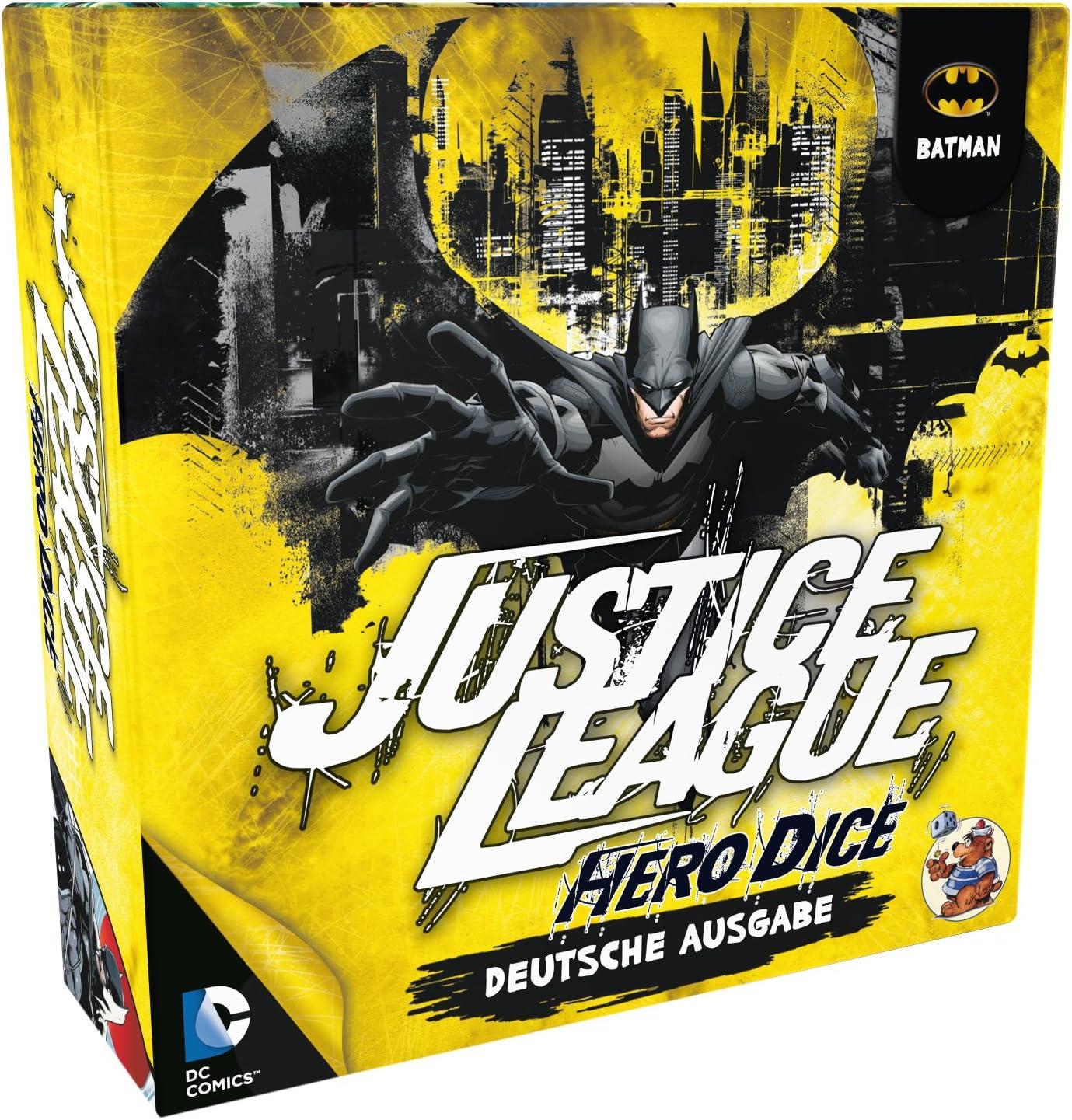 Heidelberger HE863 Liga de la Justicia: Hero Dados Batman Juego de Dados: Amazon.es: Juguetes y juegos