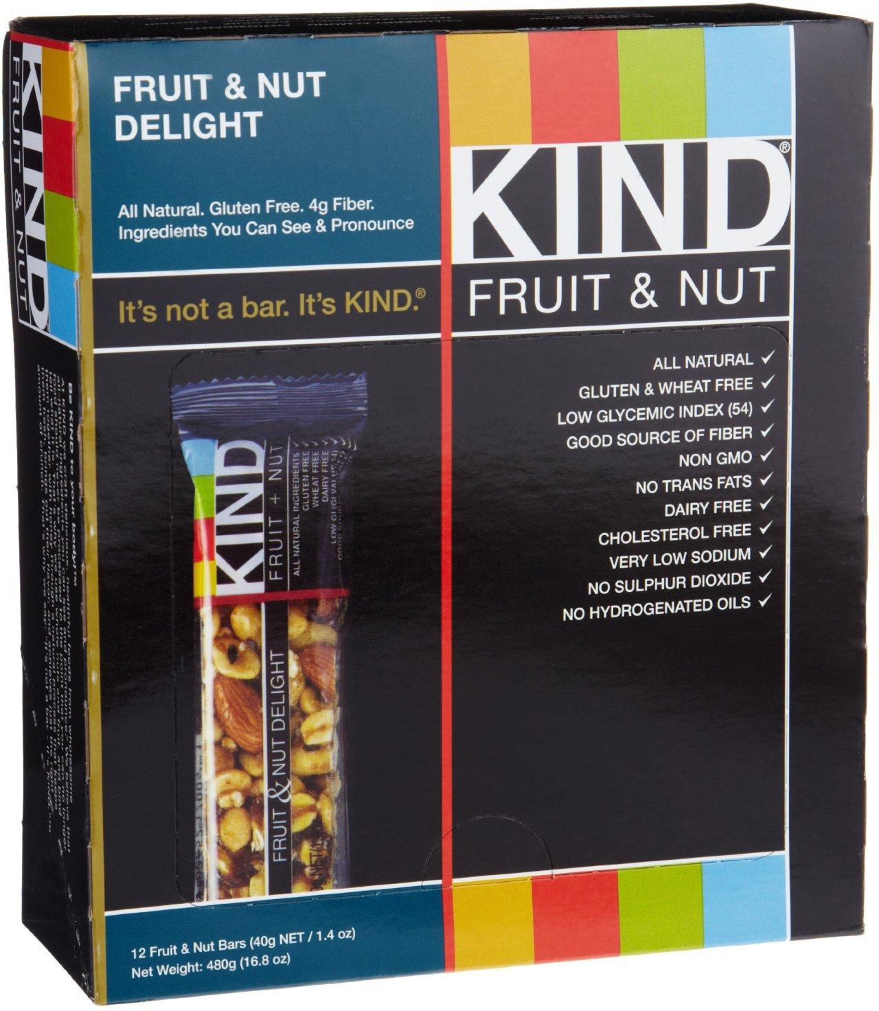 Kind Fruit & Nut, 12 ea, Fruit & Nut Delight by KIND
