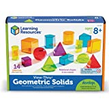Learning Resources View-Thru Geometric Solids, 14