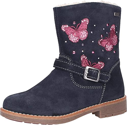 Lurchi Fiby tex, Bottes Souples Fille: : Chaussures