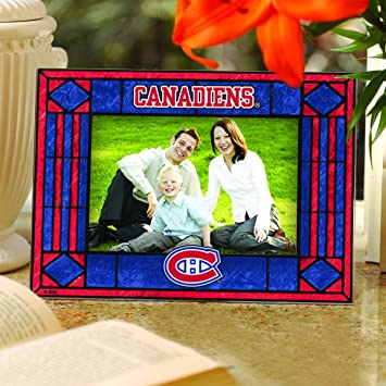 Montreal Canadiens Horizontal Art Glass Picture Frame Picture