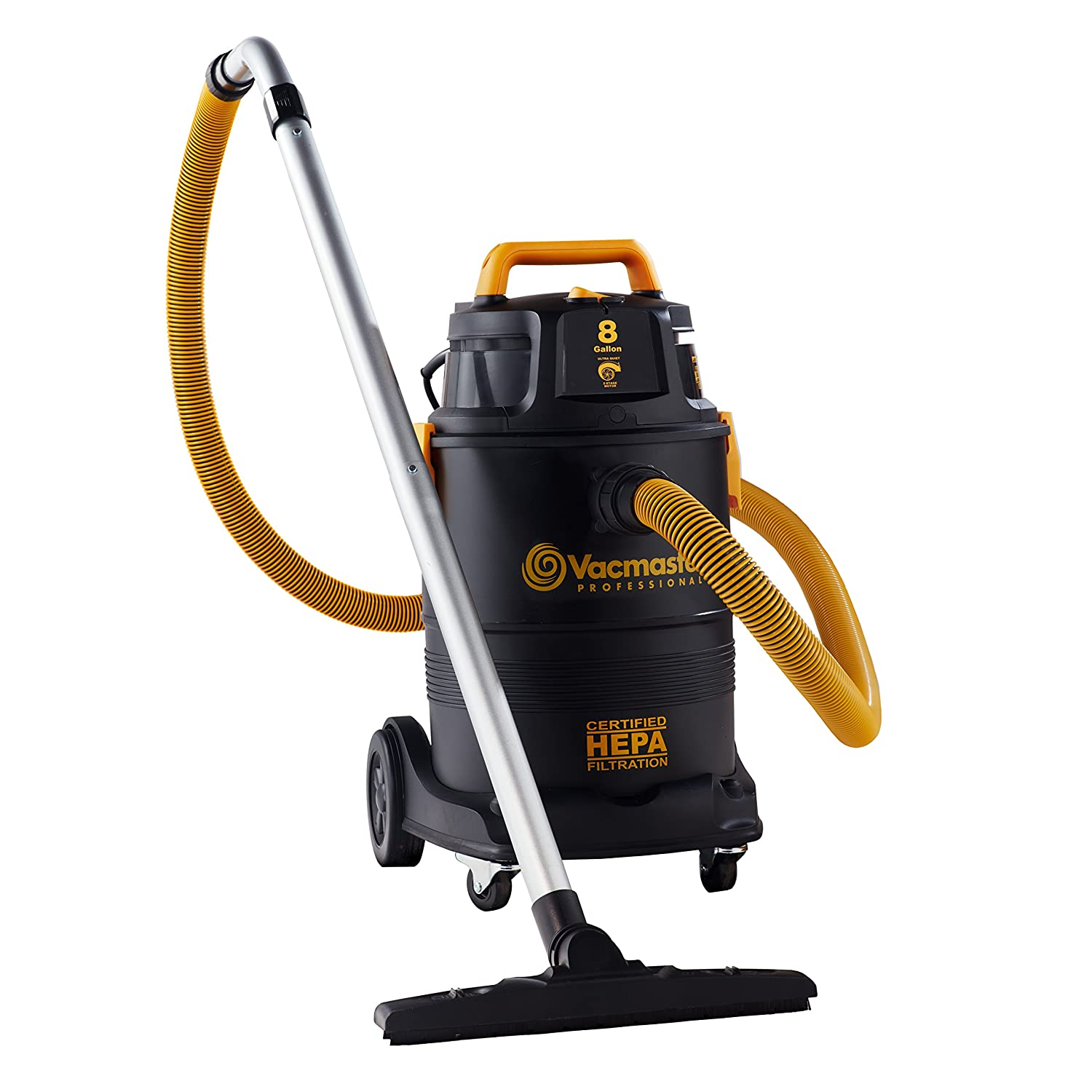 Vacmaster Shop Vac with 2 Stage Motor and HEPA Filter