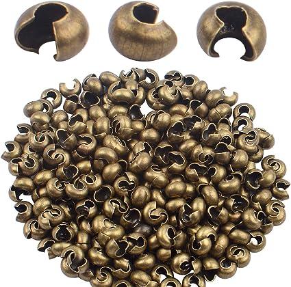 Brass Half Round Beading
