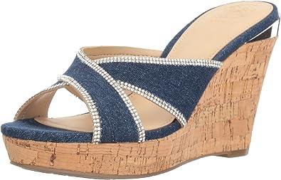 Guess Women's Eleonora3 Wedge Sandal