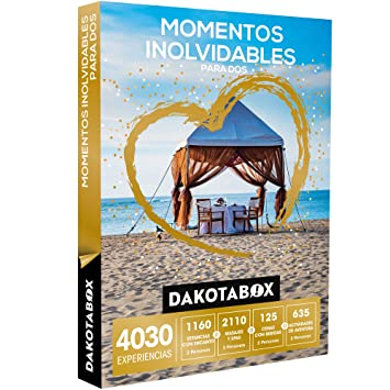 DAKOTABOX - Caja Regalo - MOMENTOS INOLVIDABLES PARA DOS - 4030 Experiencias románticas para compartir