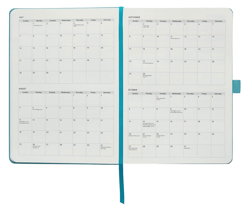 /azione layout che riceve le cose fatte e aumenta la produttivit/à/ /giornaliera 7/x 9, Brossura, turchese Action Day planner 2019/ settimanale Yearly organizer