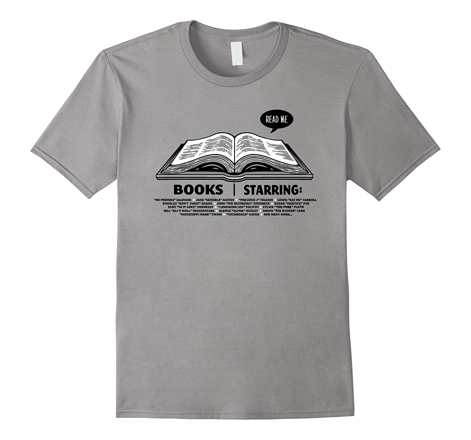 Book Lover T-Shirt Reading Gift for Literature Nerds-CD