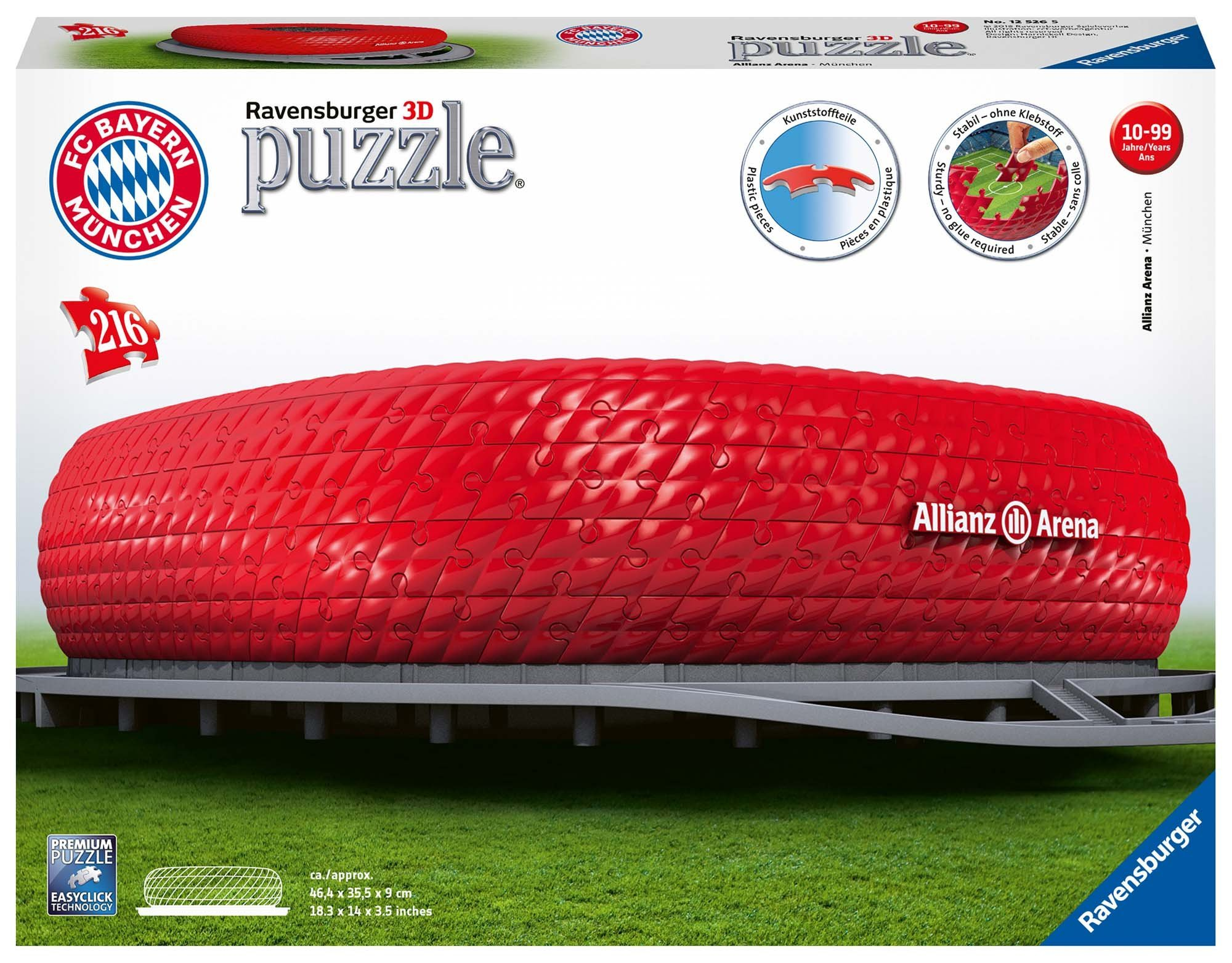 Spielzeug Mutig 3d Puzzle