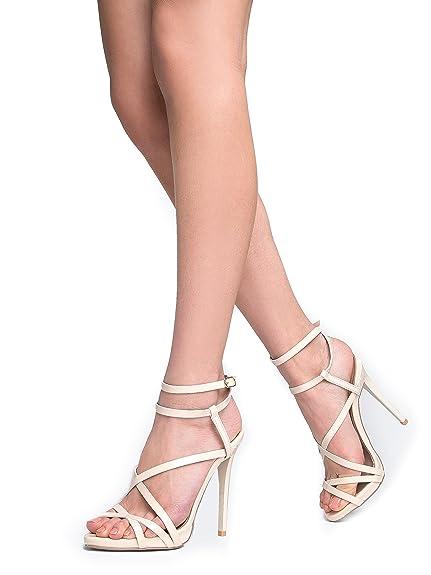 dd4c5b1d7d65 ZooShoo Women s Ankle Strap High Heel Sandals