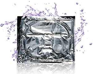 Lavender Facial Skin Repair Care Mask - Intensive Moisturizing with Peptides Help Boost Your Complexion with Vitamin E and Pro-Vitamin B5 Infused Lavender Gel