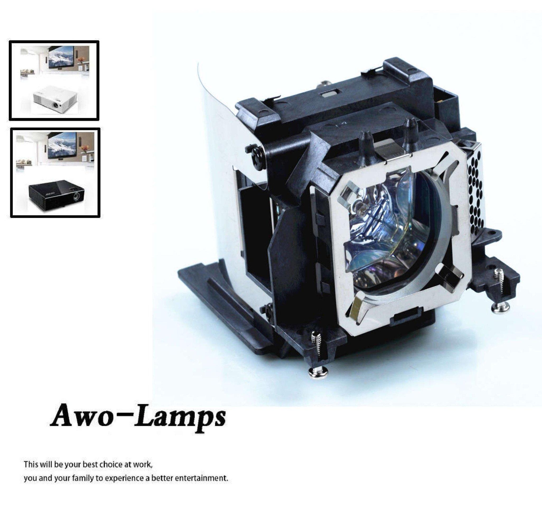 AWO Original Projector Lamp Bulb ET-LAV300 with Housing Fit for PANASONIC PT-VW345NZ, PT-VW340Z, PT-VX415NZ, PT-VX410Z, PT-VX42Z