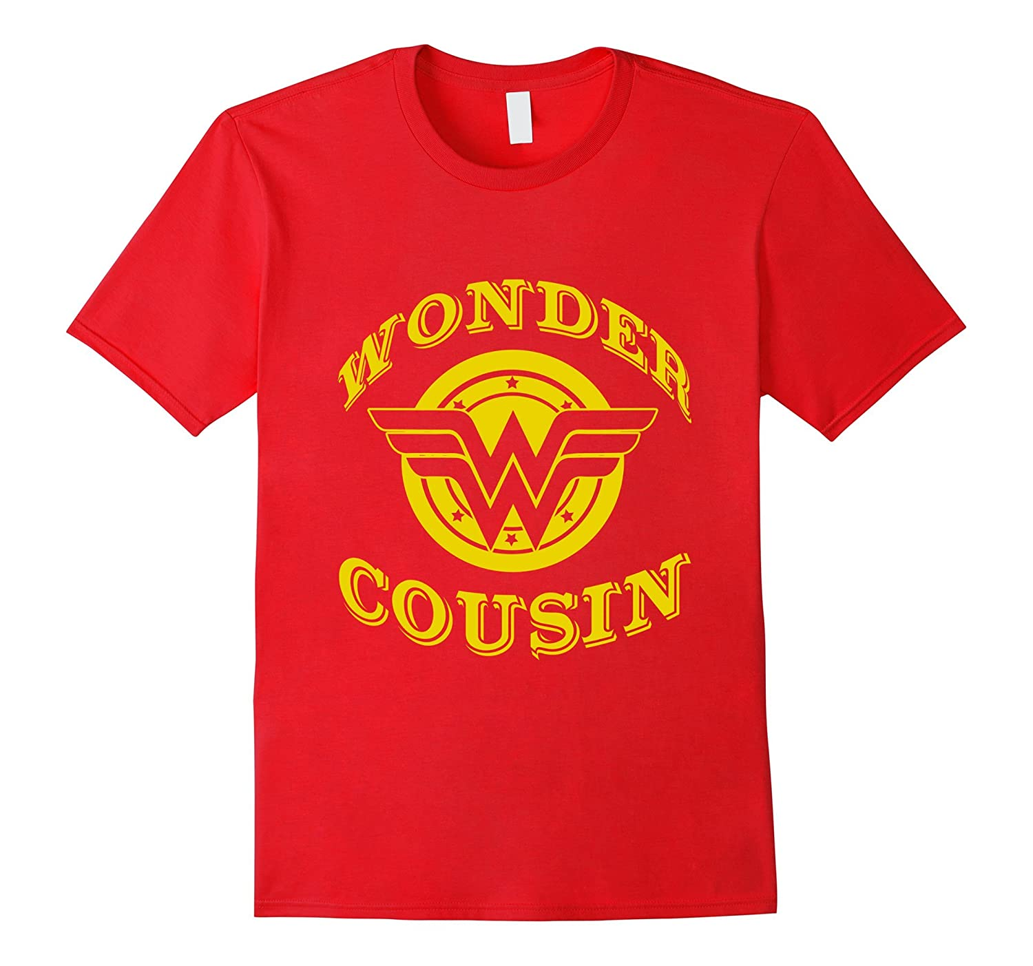 Wonder Cousin T Shirt Gift For Super Cousin On Special Day-Art