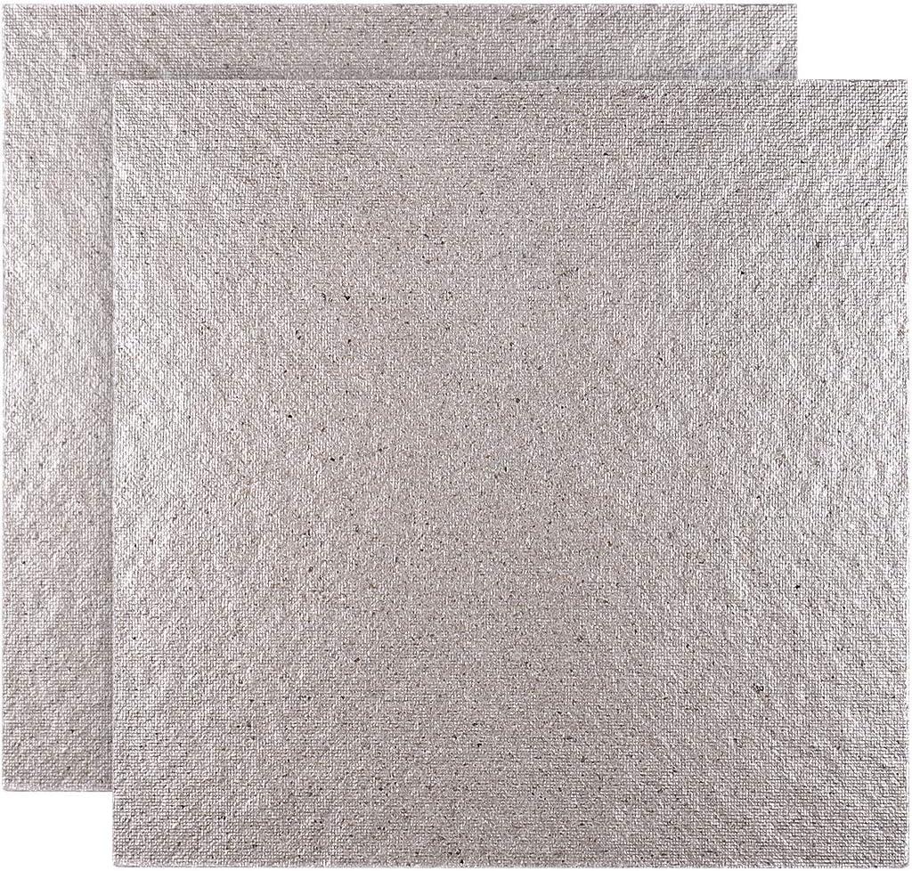 OUNONA 2 Piezas Mica de Placas Hojas de Microondas Horno Reparación Parte Tamaño 5.1 x 5.1 Pulgadas
