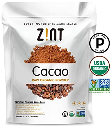 Zint Orgánico cacao en polvo (8oz): sin ...