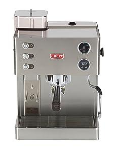 Lelit Espressomaschinen mit Siebträger PL82T mit integriertem Mahlwerk