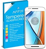 Affix Premium Tempered Glass For Motorola Moto E 3rd Gen. (Motorola Moto E3 Power) with Easy to install & Cleaning kit Included