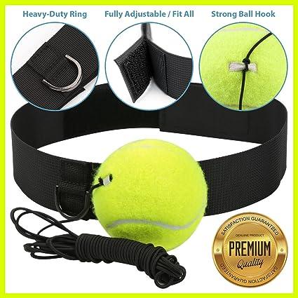 MMA Boxing Punch Training Fight Ball Sport Reflex Speed Tennis Practice Fitness