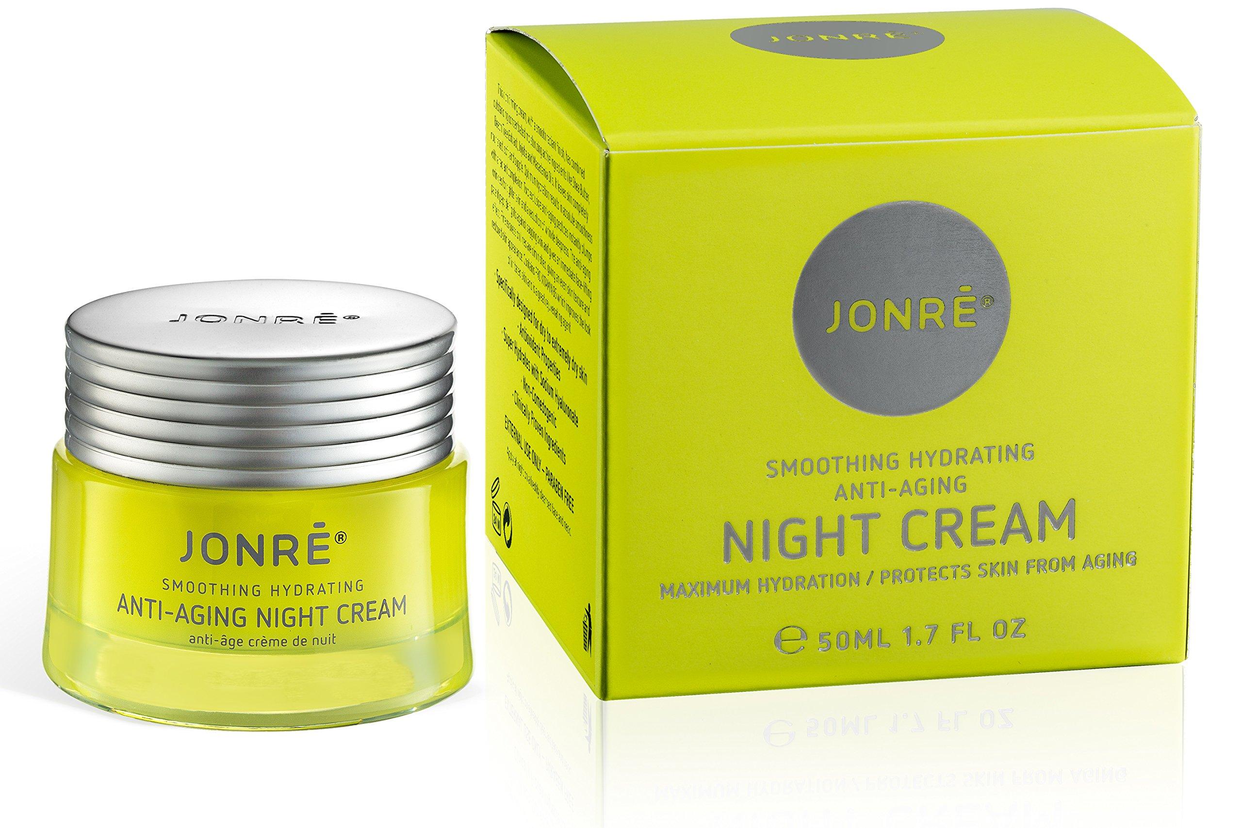 Amazon.com: Jonre ANTI AGING NIGHT CREAM, FACE MOISTURIZER, FREE YOUR DRY  ROUGH CREASED SKIN 1.7oz: Beauty