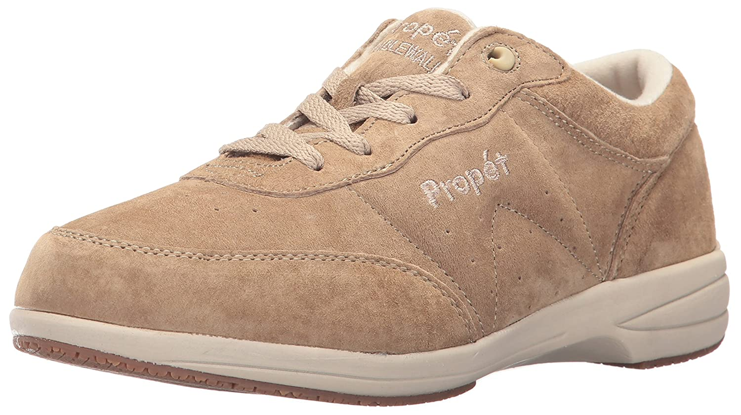 Propet Women's Washable Walker Sneaker B01N1MVIBJ 7 N US|Sr Taupe