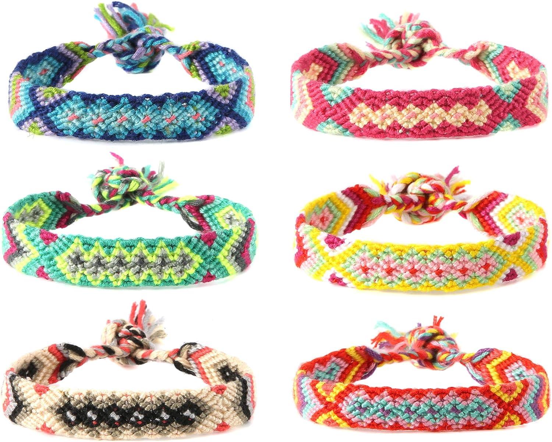 HZMAN Mix 6 Wrap Bracelets...