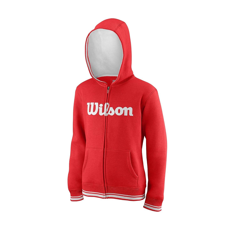 WILSON Kinder Y Team Script Fz Hoody B07822JLZZ Kapuzenpullover Billig ideal