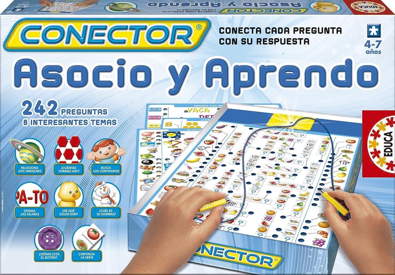 Educa Borrás - Conector Asocio Y Aprendo (14251): Amazon.es: Juguetes y juegos