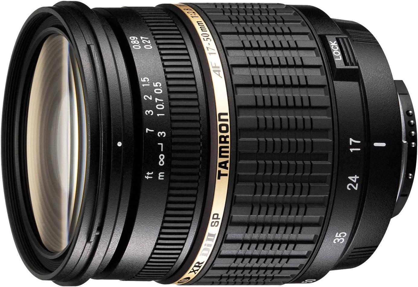 Tamron AF016P-700 SP AF17-50mm F/2.8 Di II LD Aspherical (IF) Lens with Hood for Pentax AF Cameras (Black) (Model A16P)
