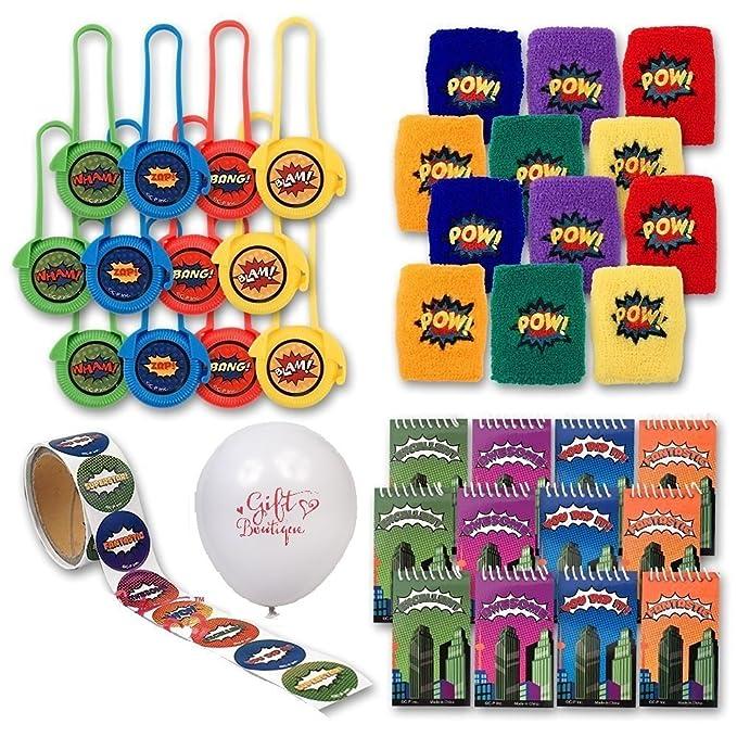 Amazon.com: Regalo Boutique superhéroe fiesta favoritos ...
