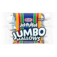 Jet-Puffed Jumbo Mallows Marshmallows Extra Large (24 oz Bags, Pack of 8)