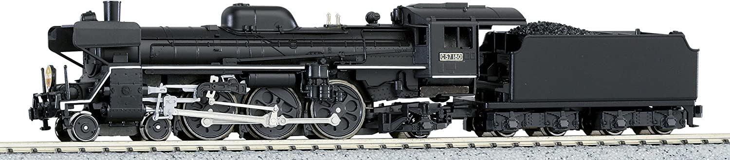 NEW Kato 2013-1 Steam Locomotive C57 180 Montetsu With Deflecters From JAPAN