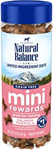 Natural Balance L.I.D. Limited Ingredient Diets Mini Rewards Dog Treats, 5.3 Ounce, Grain Free, Training Treats (Packaging May Vary)