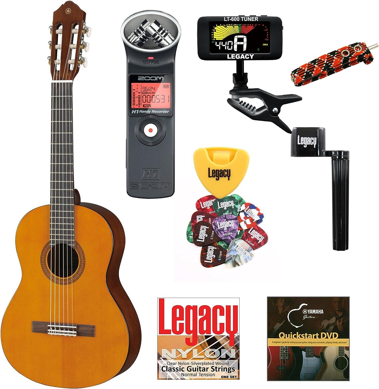 Yamaha cgs102aii 1/2 tamaño clásica guitarra acústica Bundle w ...