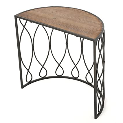 Marbella Medium Rustic Accent Table
