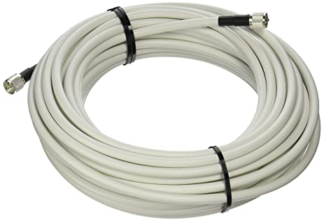 MPD Digital LMR400-W-PL259-75ft Radio Antenna Cable VHF & AIS Coaxial