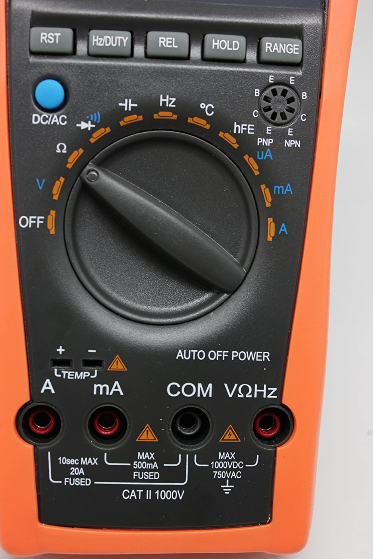 Aidetek vc97 digital auto range multimeter tester capacitor amp aidetek vc97 digital auto range multimeter tester capacitor amp voltage ac dc temp diode buzz frequency multi testers amazon buycottarizona Images