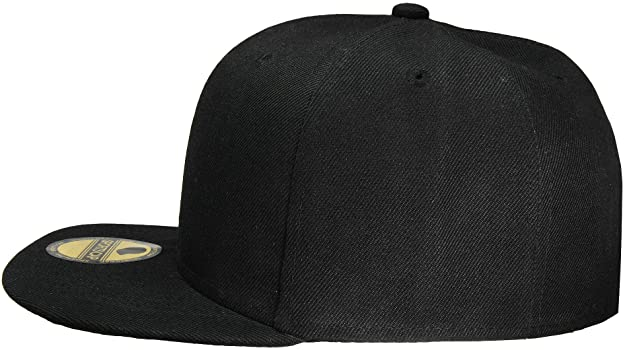 f8da5940b Plain Blank Flat Brim Adjustable Snapback Baseball Caps Wholesale LOT 12  Pack