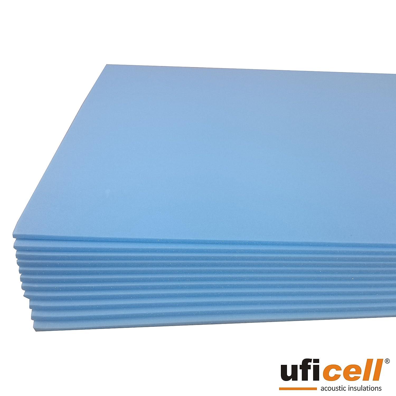 10 m/² uficell SOFT-Step Isolation sonore /à impact acoustique pour sol stratifi/é // parquet et en li/ège Excellente isolation thermique Am/élioration du bruit dimpact jusqu/à 22 dB 5 mm d/épaisseur - Vo A