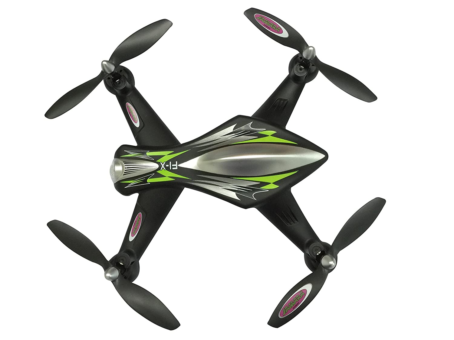 Jamara 422010 - F1X Quadrocopter Altitud HD AHP Plus, Negro