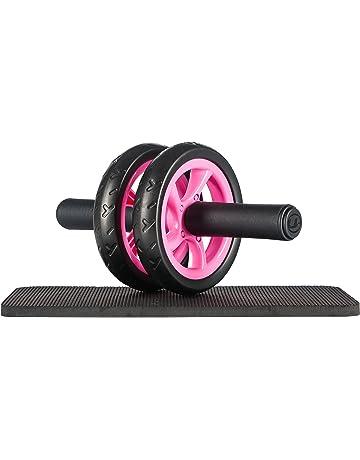 Ultrasport Wheel Roller, AB Abdominal Aparato de Entrenamiento y Ayuda para Bajar de Peso,